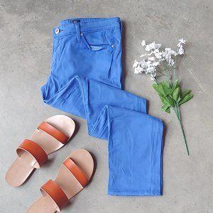 AG Skinny Blue The Stilt Cigarette Leg Jeans 28R